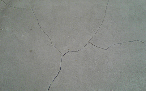 Surface course of floor